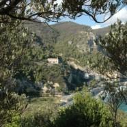 Chiesetta San Lorenzo con vista su Maplasso