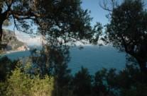 Mare visto dalla salita alla chiesetta di San Lorenzo